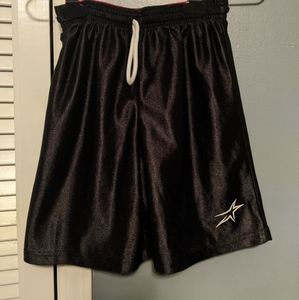 Other - Reversible boys sz M shorts black/red